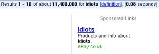 Adsense Spam by Ebay